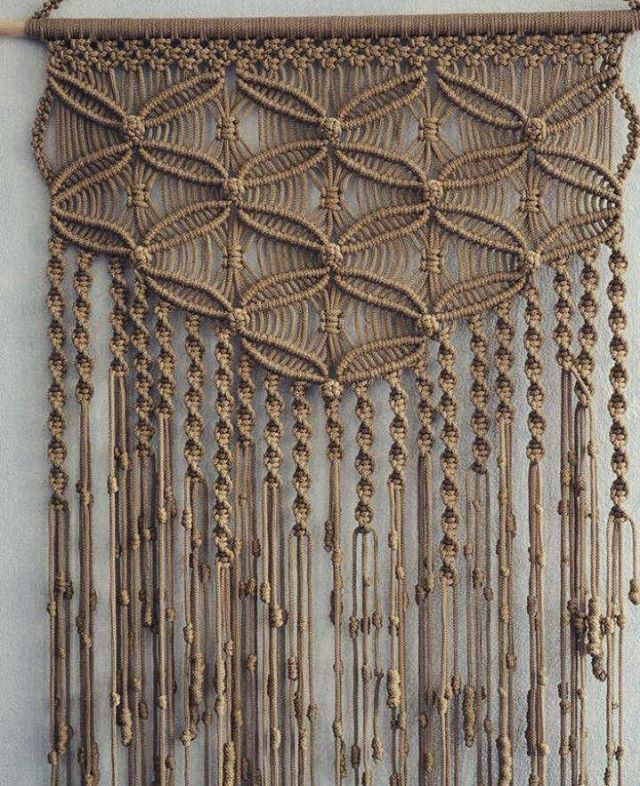 Macrame wall art. Hand done by our artisan partners
